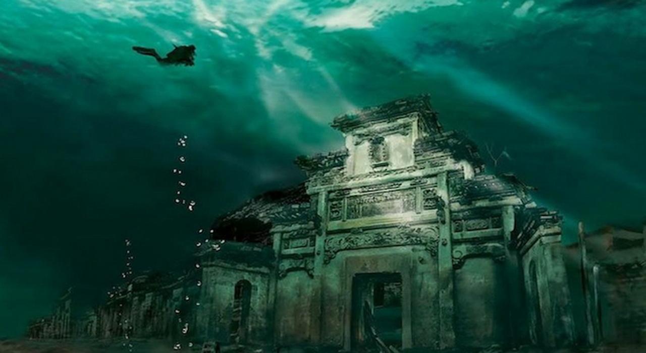 Shicheng, perfect păstrat în apele întunecate ale lacului