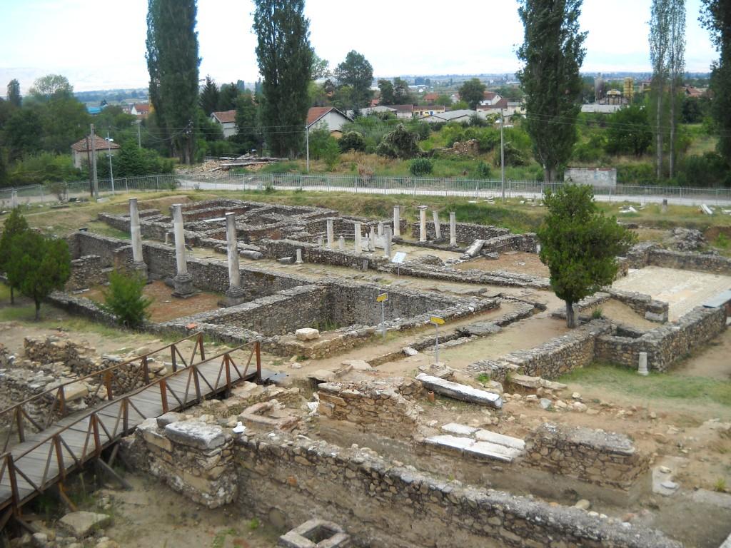 Situl Heraclea Lyncestis este organizat spre a putea fi vizitat cu ușurință