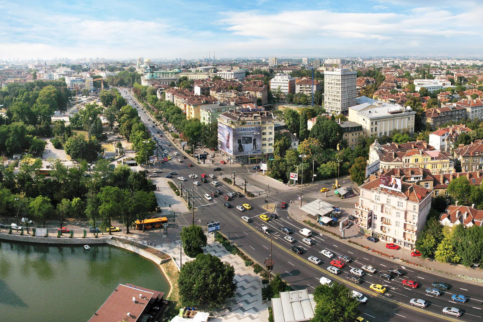 Sofia, un oraș plin de viață