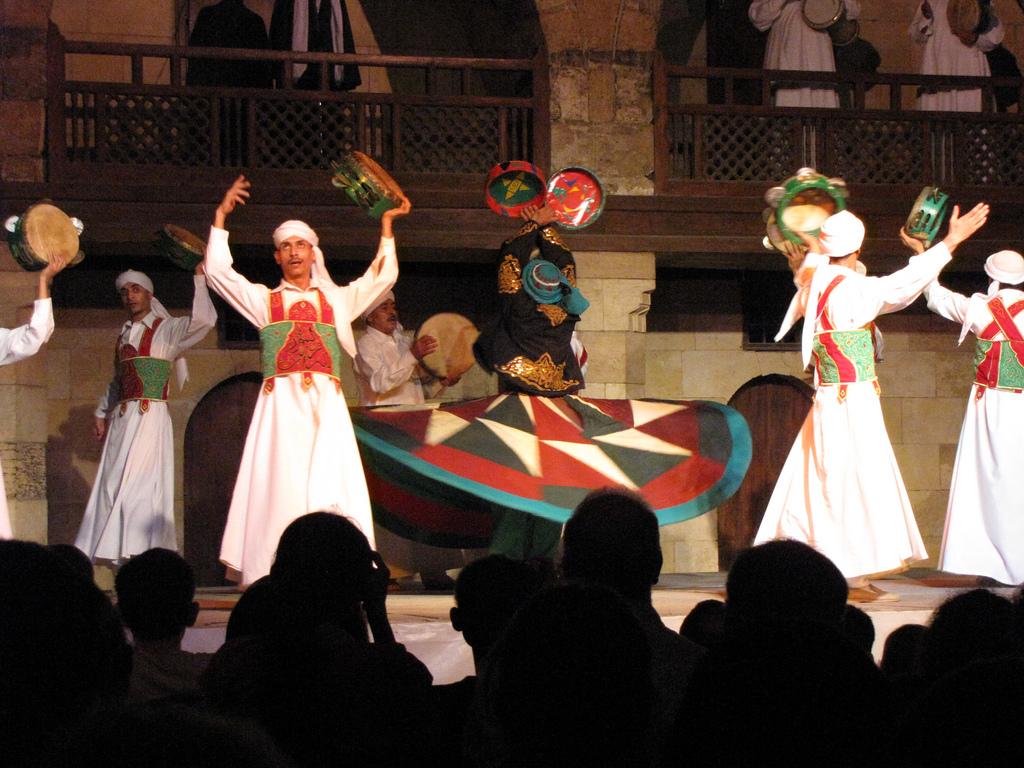 Spectacol in Wikala al-Ghouri