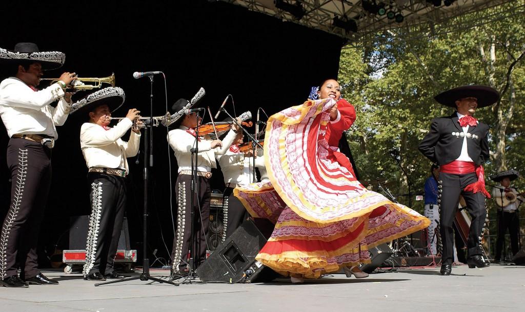 Spectacol tradițional în Cancun