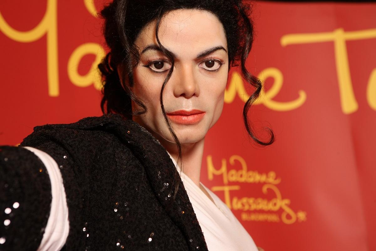 Statuia de ceară a cântăreţului Michael Jackson, Muzeul Madame Tussauds