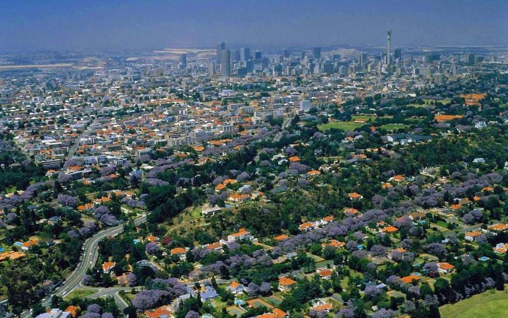 Suburbii pentru albi în Johannesburg