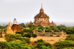 Temple din Oraşul Bagan, Birmania