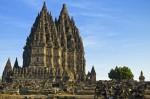 Templul hindus Prambanah din Indonezia
