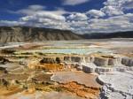 Terase de calcar cu ape termale, Parcul Naţional Yellowstone