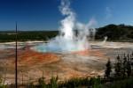 Teren calcaros cu ape fierbinţi, Parcul Naţional Yellowstone