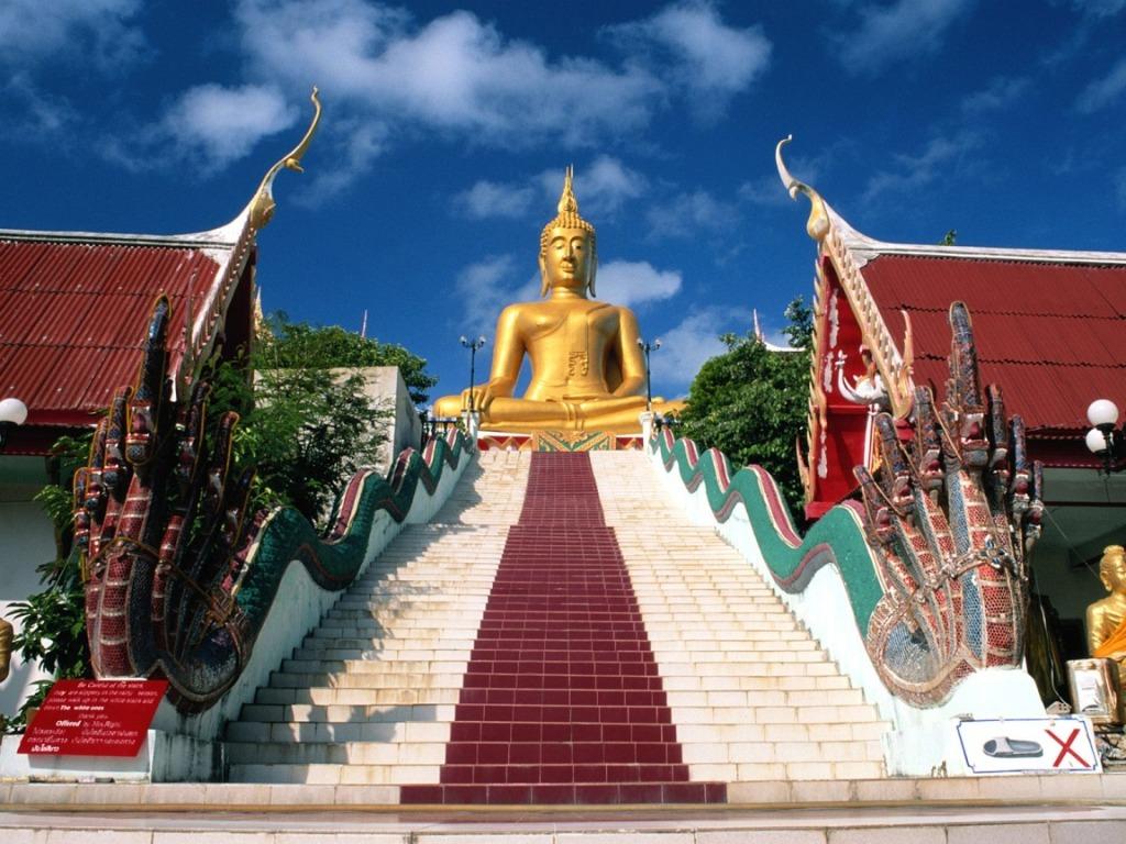 Thailanda, templu ridicat în cinstea lui Buddha
