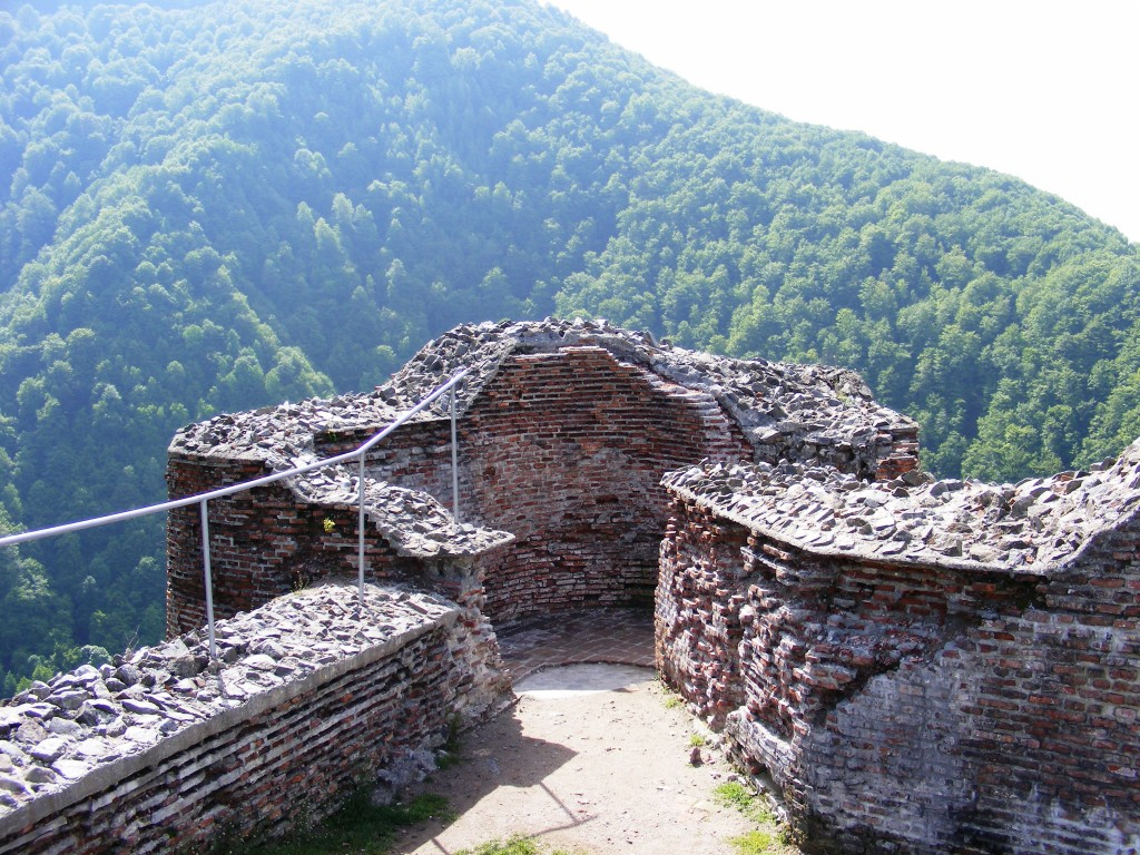 Turn de observatie la Cetatea Poenari