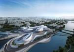 Viitorul centru cultural din Changsha