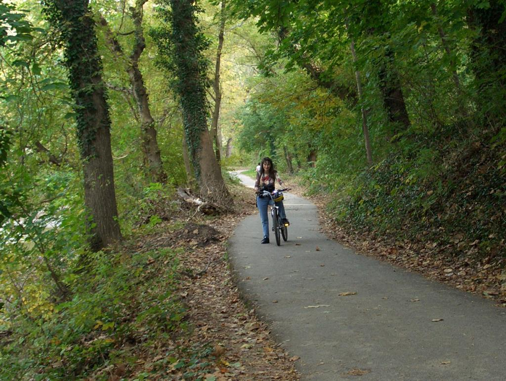 WashingtonDC, Rock Creek Park este ideal pentru biciclisti