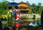 Zi de sărbătoare în Kyoto, când locuitorii îmbracă kimono-ul tradiţional şi vizitează templele oraşului