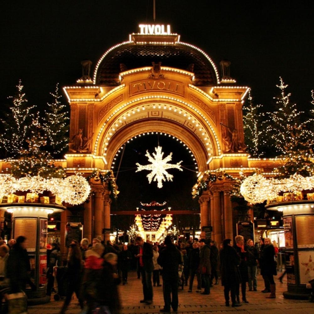 Tivoli Gardens, Decoraţii de Crăciun
