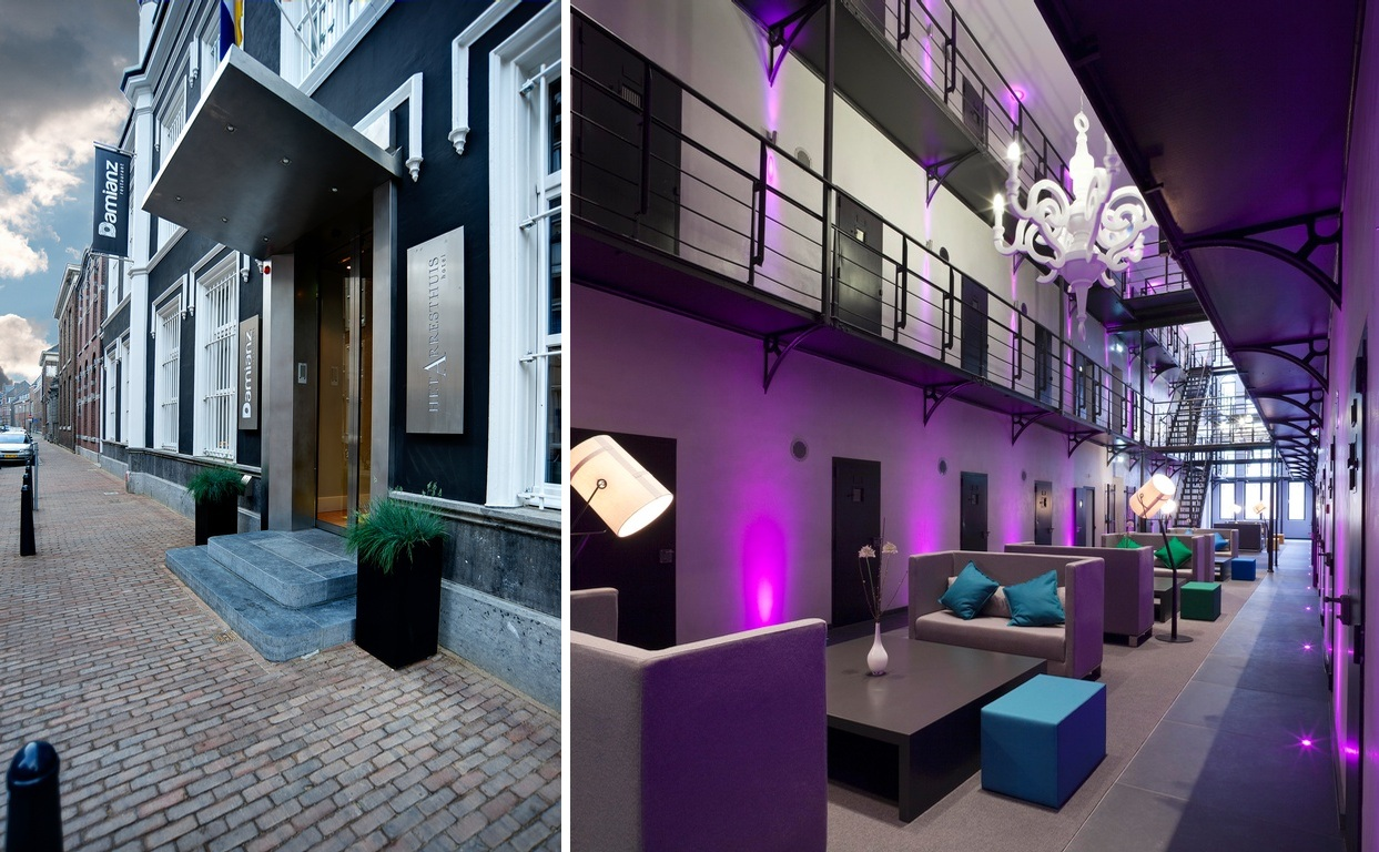 Het Arresthius, un hotel controversat