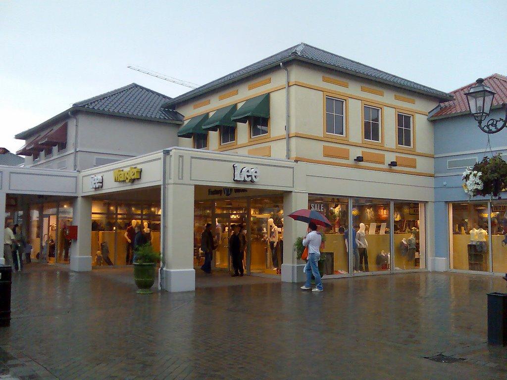 Designer Outlet din oraşul Roermond