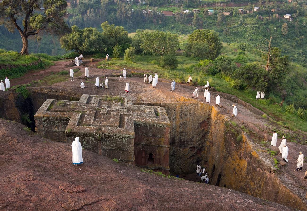Biserica Saint George, o bijuterie arhitecturală în Etiopia