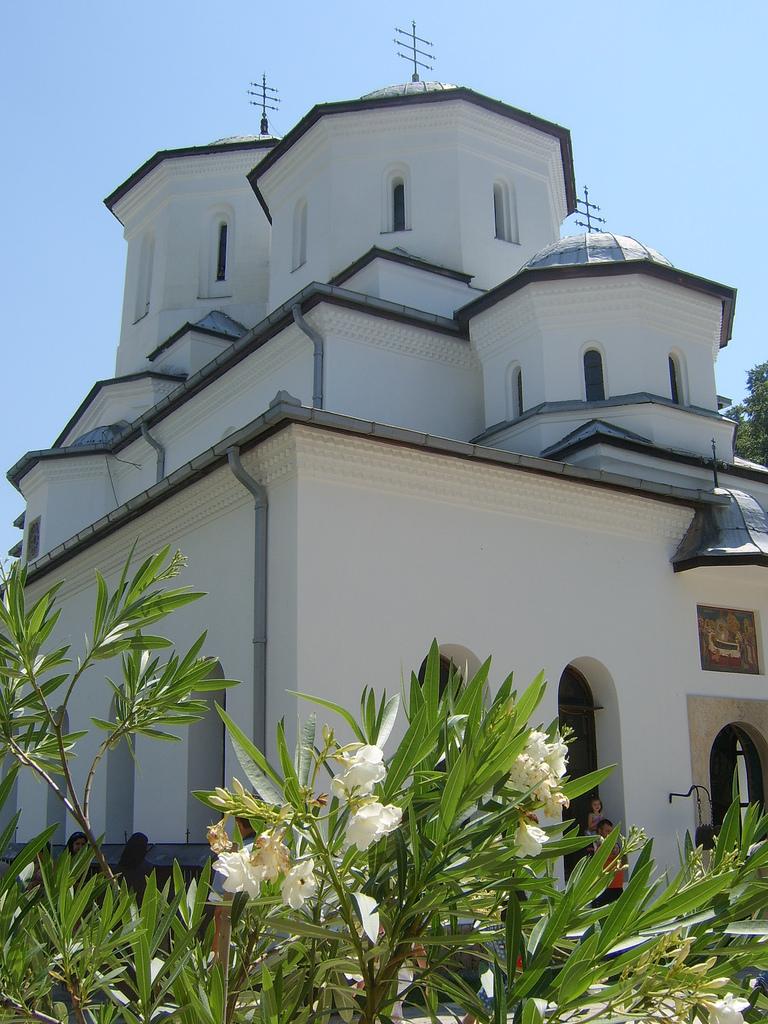 Biserica de la Mânăstirea Tismana