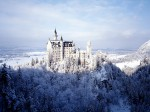 Castelul Neuschwanstein iarna