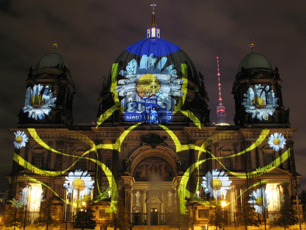 Catedrala din Berlin, Festivalul Luminilor, 2009
