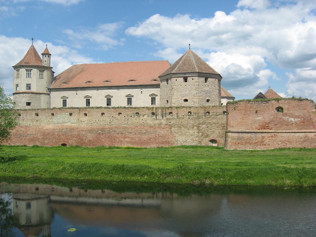 Cetatea Făgărașului și șanțul exterior