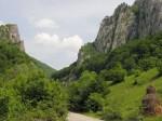 Cheile Bobotului pe Valea Cernei