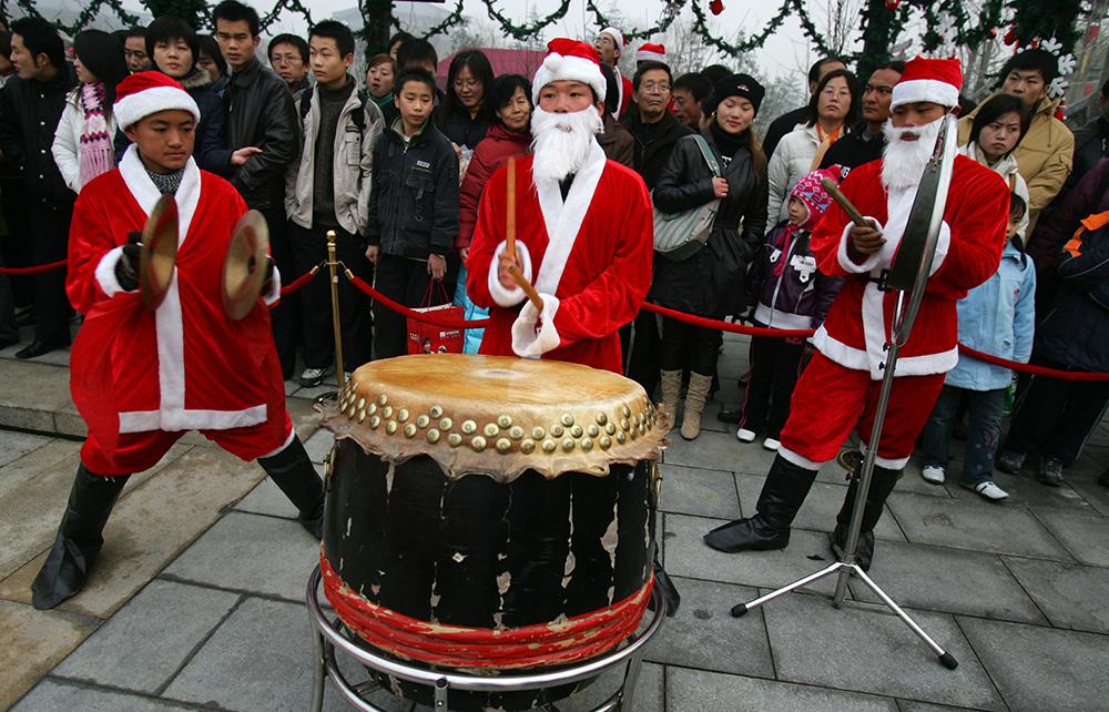 China în perioada Crăciunului
