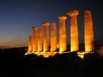 Coloanele de piatră, tot ce-a mai rămas din Templul lui Heracles
