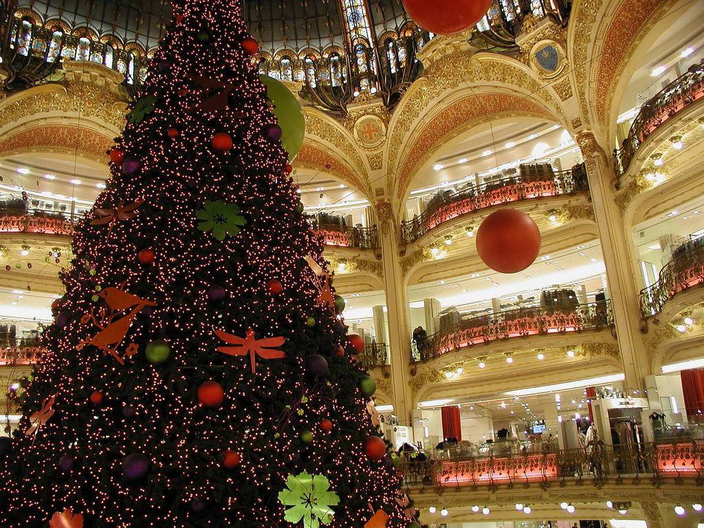 Crăciunul în Paris