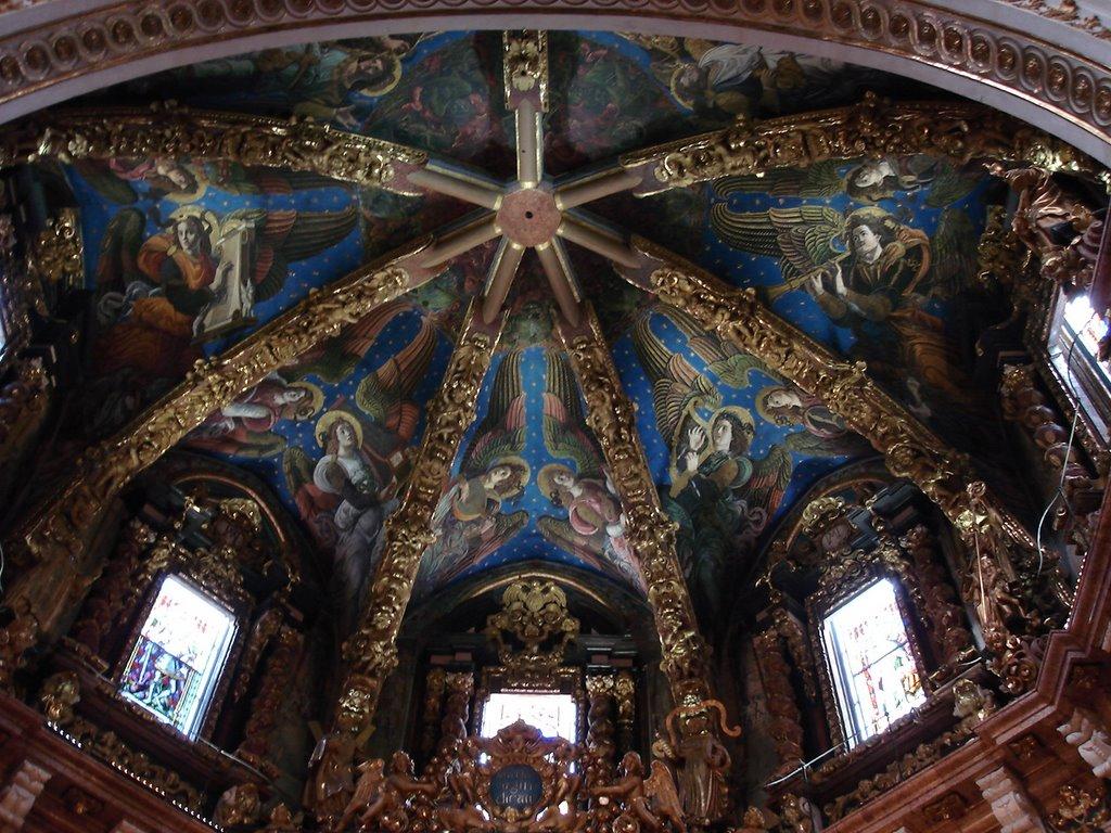 Cupola Catedralei din Valencia este o adevărată operă de artă