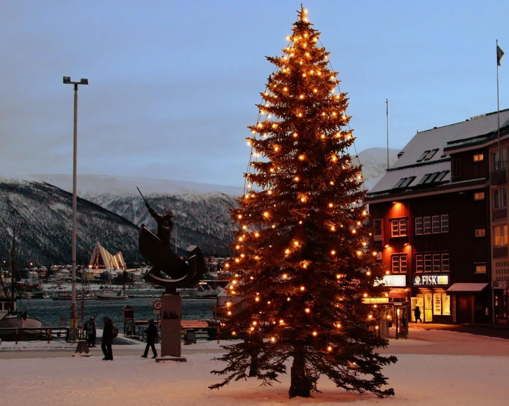 Destinații de Crăciun, Tromso este aproape de Polul Nord