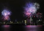Din nou artificiile din New York