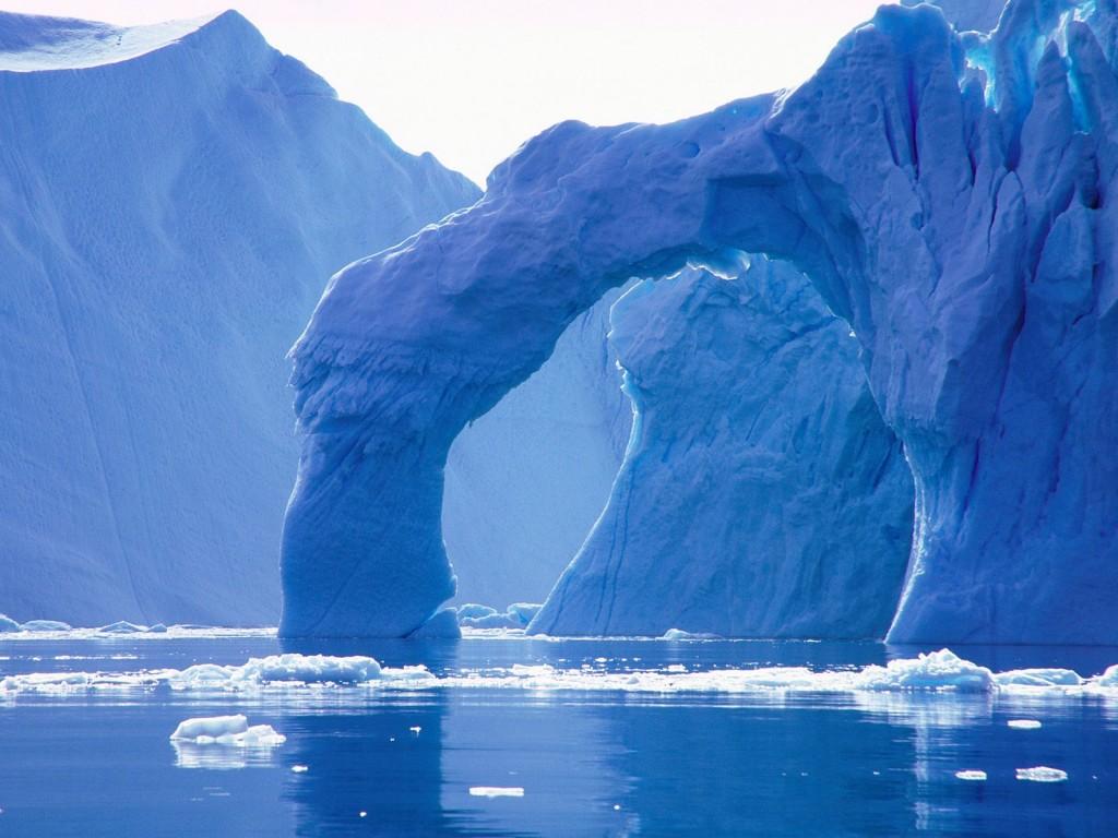 Ghețari în Groenlanda