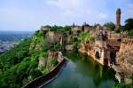 Iazul din fortul Chittorgarh
