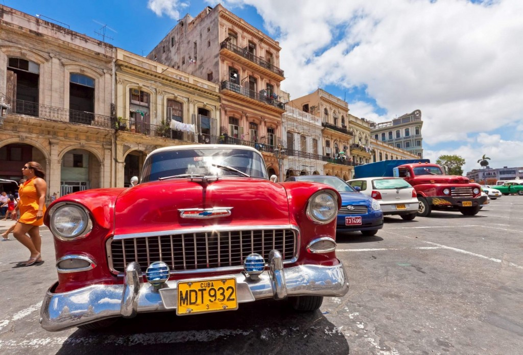 Imagine clasică pentru Cuba
