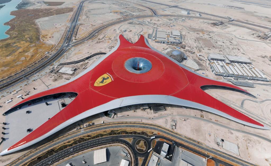 Incredibil dar adevărat, acesta este Ferrari World