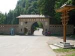 Intrarea la Mânăstirea Tismana