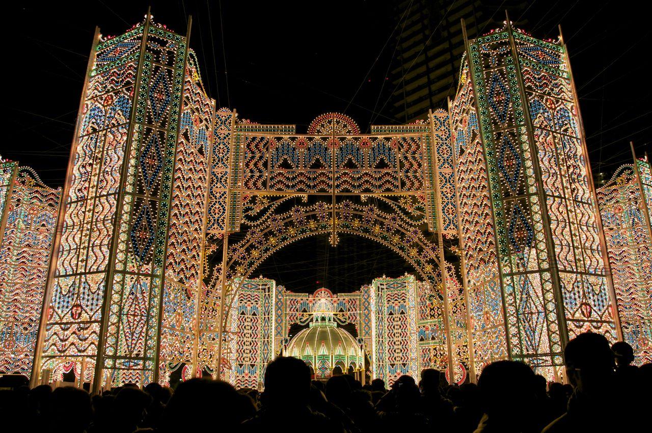 Kobe Luminaire, festivalul luminilor