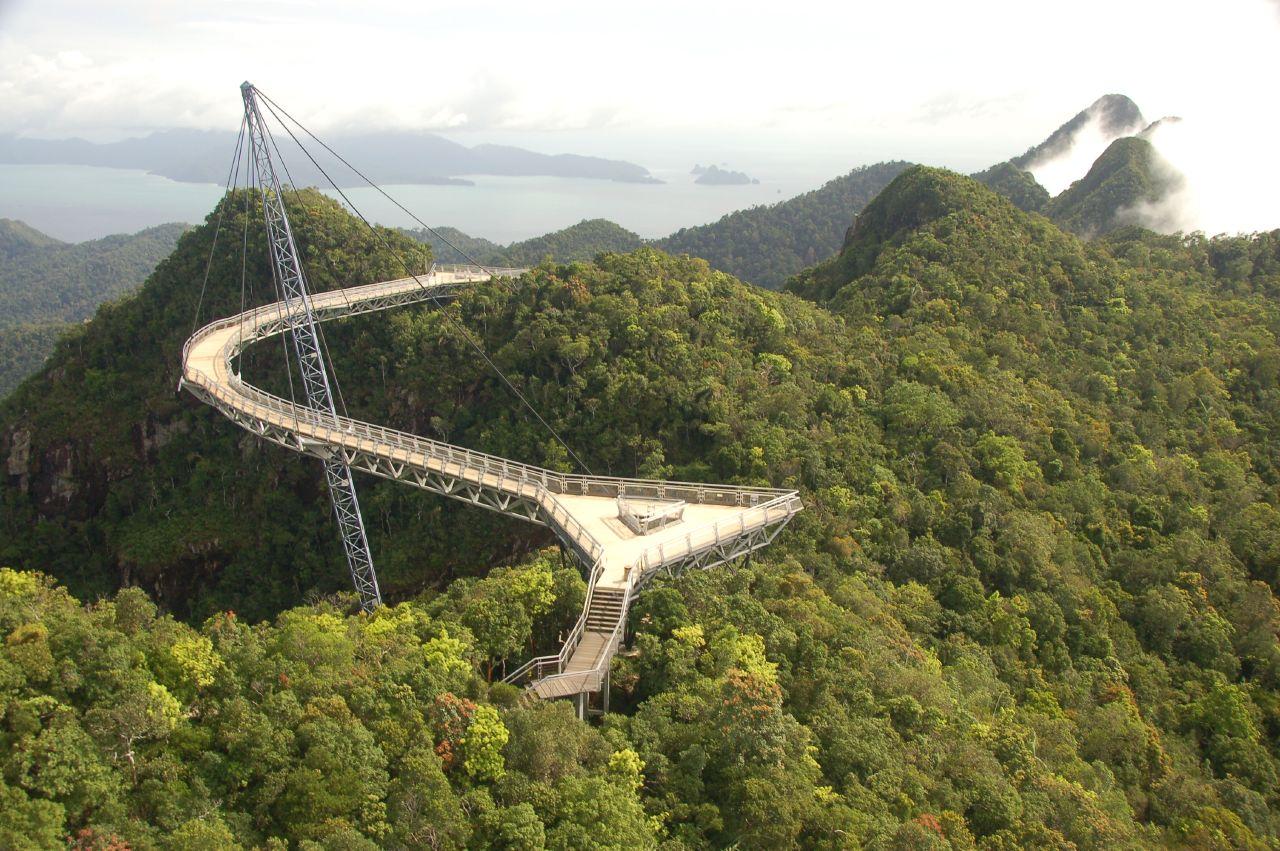 Langkwi Sky Bridge, Malaezia