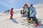 Lecții de schi pentru cei mici