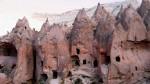 Locuinţe sculptate în rocă, Cappadocia, Turcia