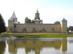 Mânăstirea era fortificată pentru a o proteja de amenințarea turcească