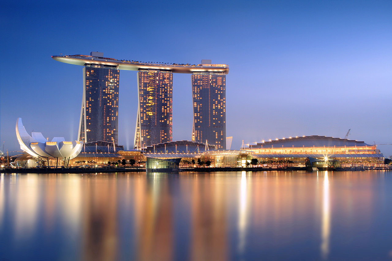 Marina Bay Sands, o imagine a modernității