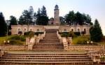 Mausoleul Mateiaș, vedere din față