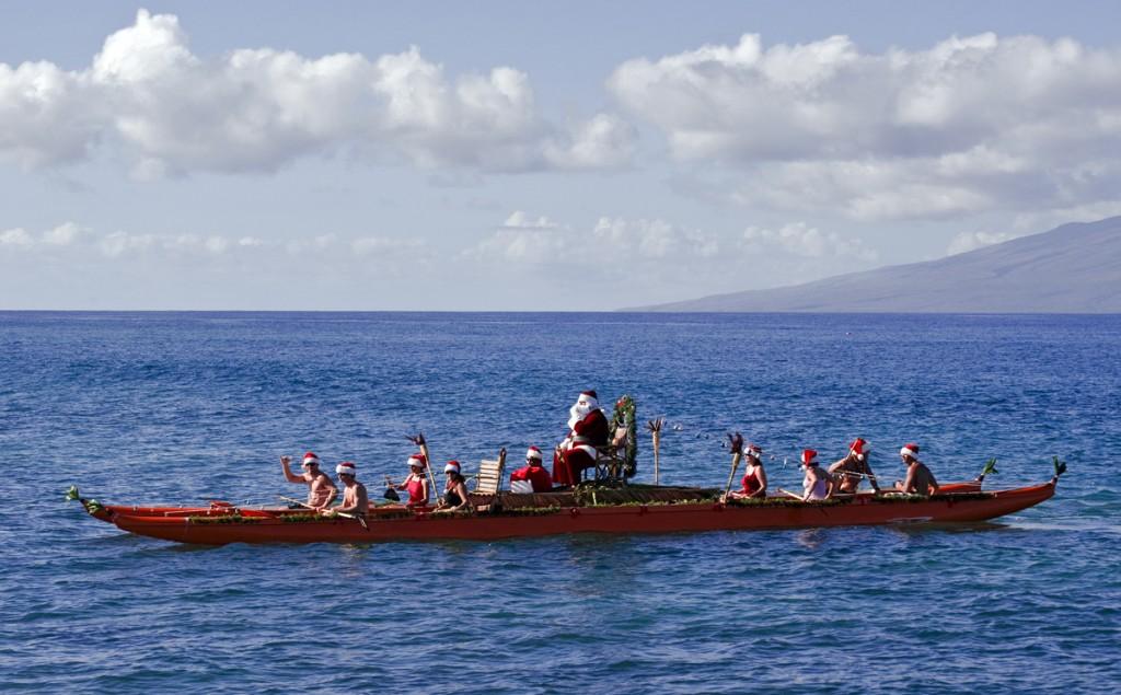 Moș Crăciun în Kaanapali