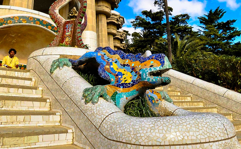 Parcul Guell, Barcelona
