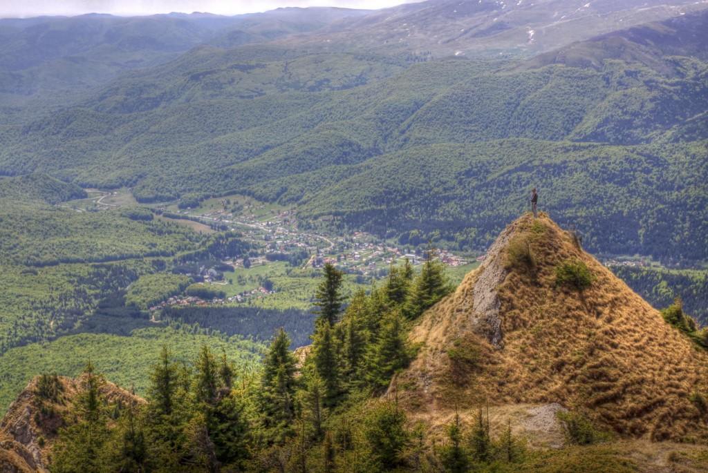 Munții Ciucaș la început de primăvară