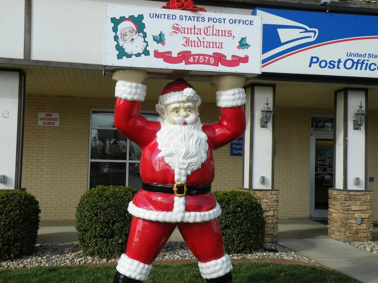 Oficiul poștal din Orașul lui Moș Crăciun