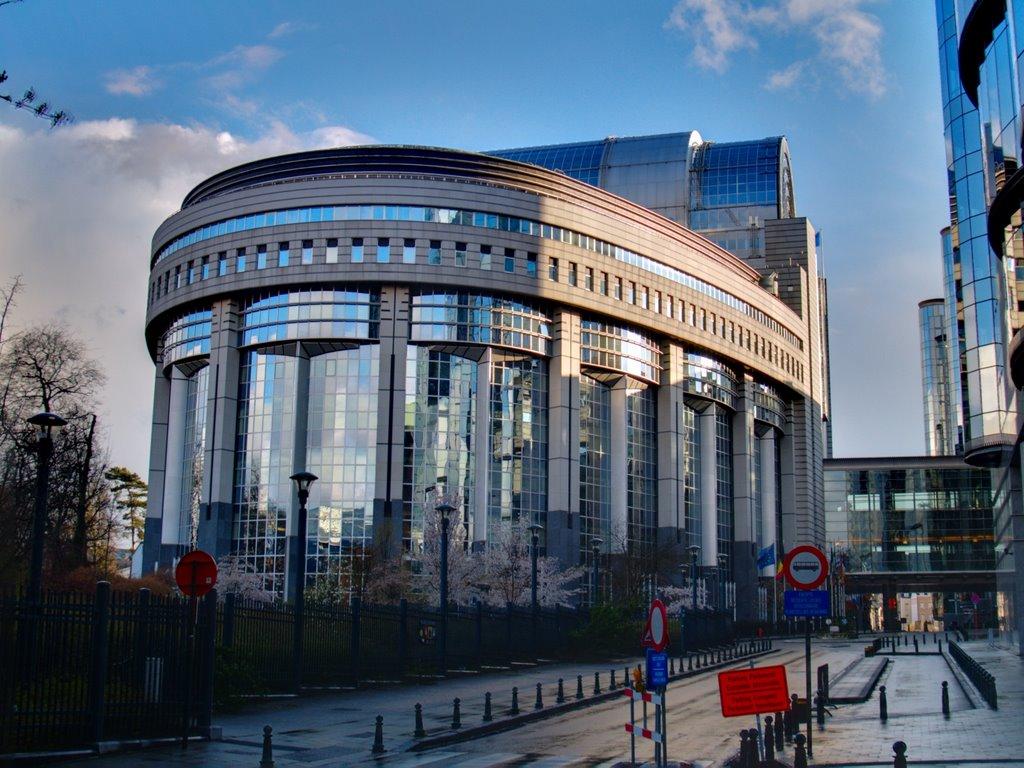 Parlamentul Eurpean, Bruxelles