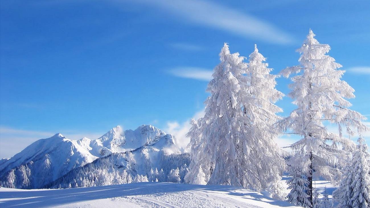 Peisaj de iarnă, Maramureș
