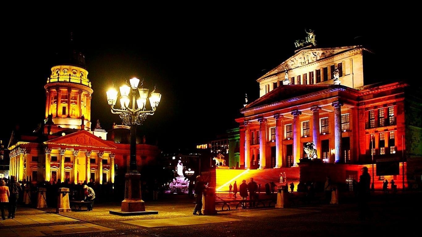 Piața din Berlin, Festivalul Luminilor